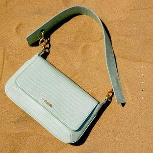 CULT GAIA Damara Leather Shoulder Bag MINT